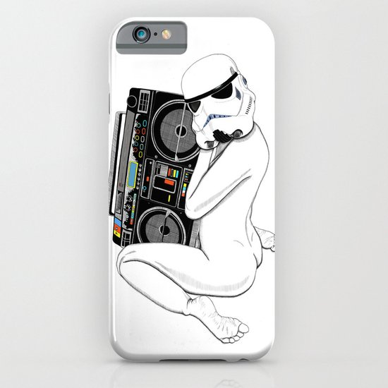 Boombox trooper iPhone & iPod Case