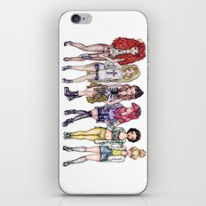 Hipster Princesses iPhone & iPod Skin