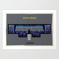 Star Wars_ Directed By G… Art Print