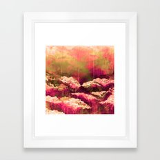IT'S A ROSE COLORED LIFE… Framed Art Print