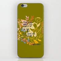 The Pursuit of Joy iPhone & iPod Skin