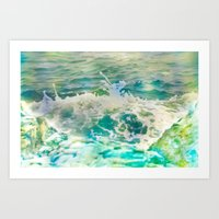 Milk Surf Art Print