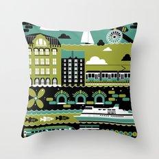 Helsinki Throw Pillow
