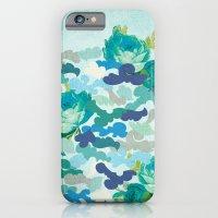Camoflauge Roses iPhone 6 Slim Case