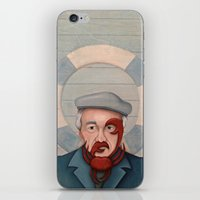 Crab Beard iPhone & iPod Skin