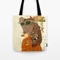 Packed And Ready To Go Tote Bag