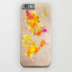 World Map iPhone 6 Slim Case