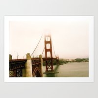 GG Bridge San Francisco Art Print