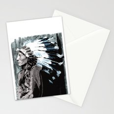 Native American Chief 2 Stationery Cards