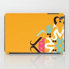 Orange Arabic iPad Case