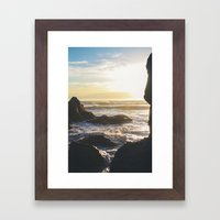 Olympic Pacific Framed Art Print