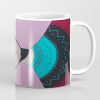 Sixties´s lady Mug