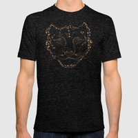 Leopard Mens Fitted Tee Tri-Black SMALL