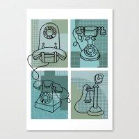Phone Call Canvas Print