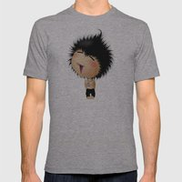Mr. Zhong Mens Fitted Tee Athletic Grey SMALL
