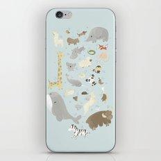 Animalphabet iPhone & iPod Skin
