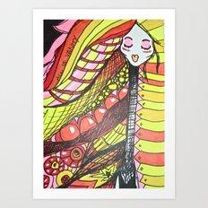 All is Vanity Art Print