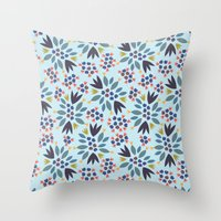 Blueberry 2 Throw Pillow