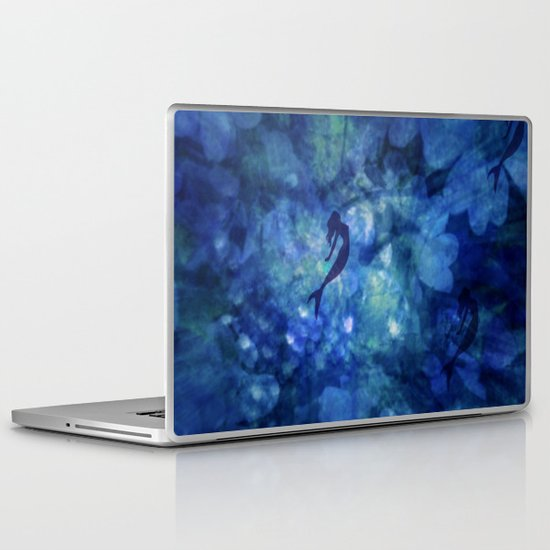 JAZZY BLUES Laptop & iPad Skin