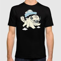 My Little Sky Bison  Mens Fitted Tee Black SMALL