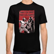 Party on, Bane SMALL Black Mens Fitted Tee