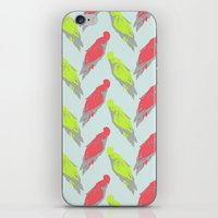 pale parrots iPhone & iPod Skin