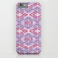 Gem Tone Watercolor Diamonds iPhone 6 Slim Case