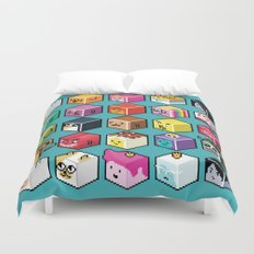 A.T. Cubies (40 CHARACTERS) Duvet Cover