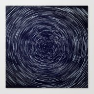 Stars Long Exposure Canvas Print