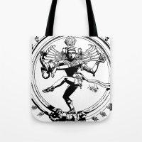 Natraj Dance - Mono Tote Bag
