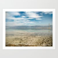 Dead Sea #2 Art Print