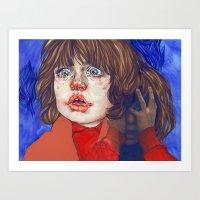 Shining Danny Art Print