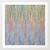 sparkly rain Art Print