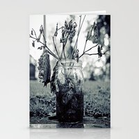 Wilting beauty Stationery Cards