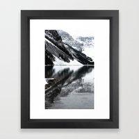 Water Reflections II Framed Art Print