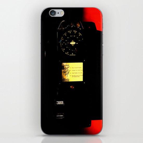 payphone #1 iPhone & iPod Skin