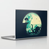 moon Laptop & iPad Skins featuring The Big One by Jay Fleck