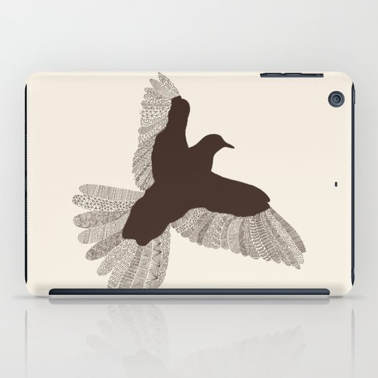 Bird (On Beige) iPad Case