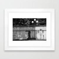 lamp Framed Art Print