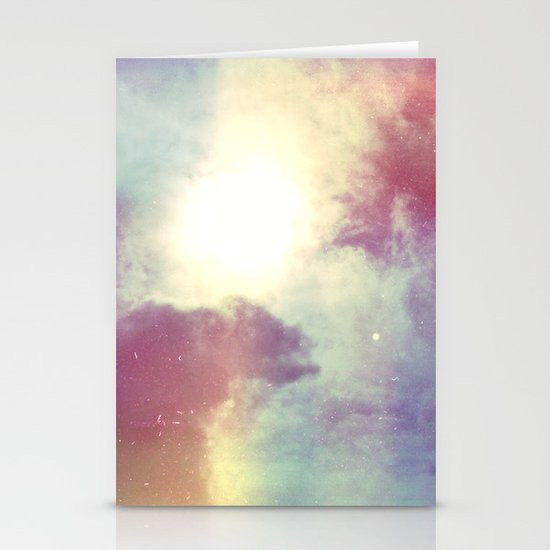 look to the sky Stationery Card
