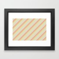 I Heart Patterns #003 Framed Art Print