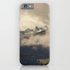 Mountains through the Fog Slim Case iPhone 6s