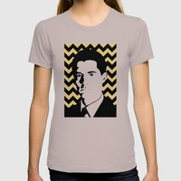 Special Agent Dale Cooper Womens Fitted Tee Cinder SMALL