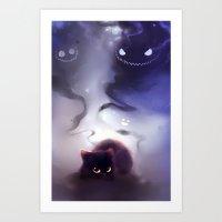 Omoi Reflect Art Print