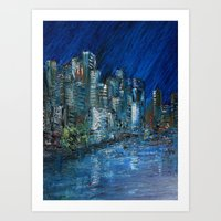 Waterfront Abyss Art Print