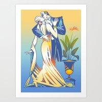 Romantic Interlude Art Print