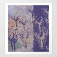 Composition With Trees Art Print