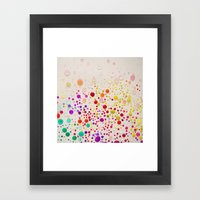 Colorful  Framed Art Print