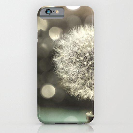Dandelion in a Jar iPhone & iPod Case