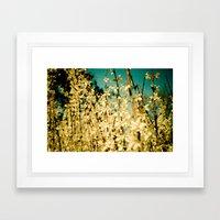 Wild Abandon Framed Art Print